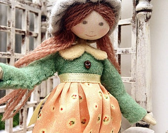 LOUISA DOLL KIT / Limited Edition / Vintage Style / by Verity Hope