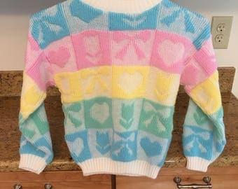 90s Pastel Sweater Girls 5/6