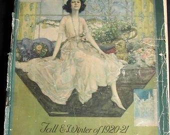 1920-21 Philipsborn's Fall Winter Catalog Dresses Coats Shoes Skirts Hats more