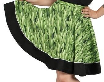 Sadie Skirt in Cactus Print
