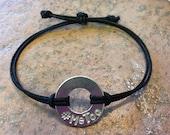 MeToo Adjustable Washer Bracelet
