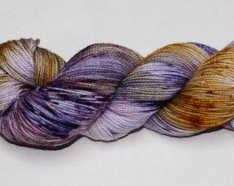 Sugar Plum Fairy Hand Dyed Sock Yarn
