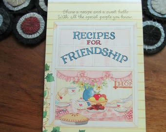 Stationery Tablet Recipes for Friendship