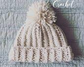 Winter Olympics 2018 Snowboarding  Hat / Crochet Hat / Pom Hat
