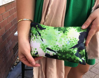 the 'tree' art studio clutch