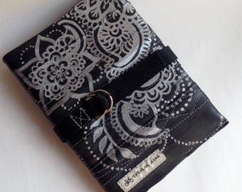 Upcycled Refillable Jounral- Silver
