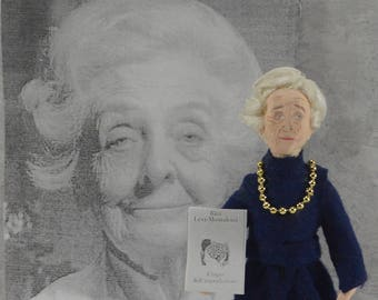 Rita Levi-Montalcini, Science Art, Italian Nobel Laureate,  Neurobiology, Physiology Medicine