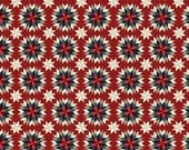 ON SALE Penny Rose Fabrics, American Heritage by Dani Mogstad Quilt Red