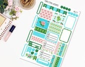 Lilypad Mini Weekly Planner Sticker Kit for Plum Paper Family (ME) Planners 7 x 9/ Functional Stickers/ Checklists  #337