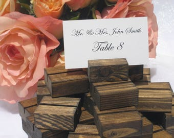 Place Card Holders,  Rustic Wedding Place Card Holder (Set of 100) ON SALE