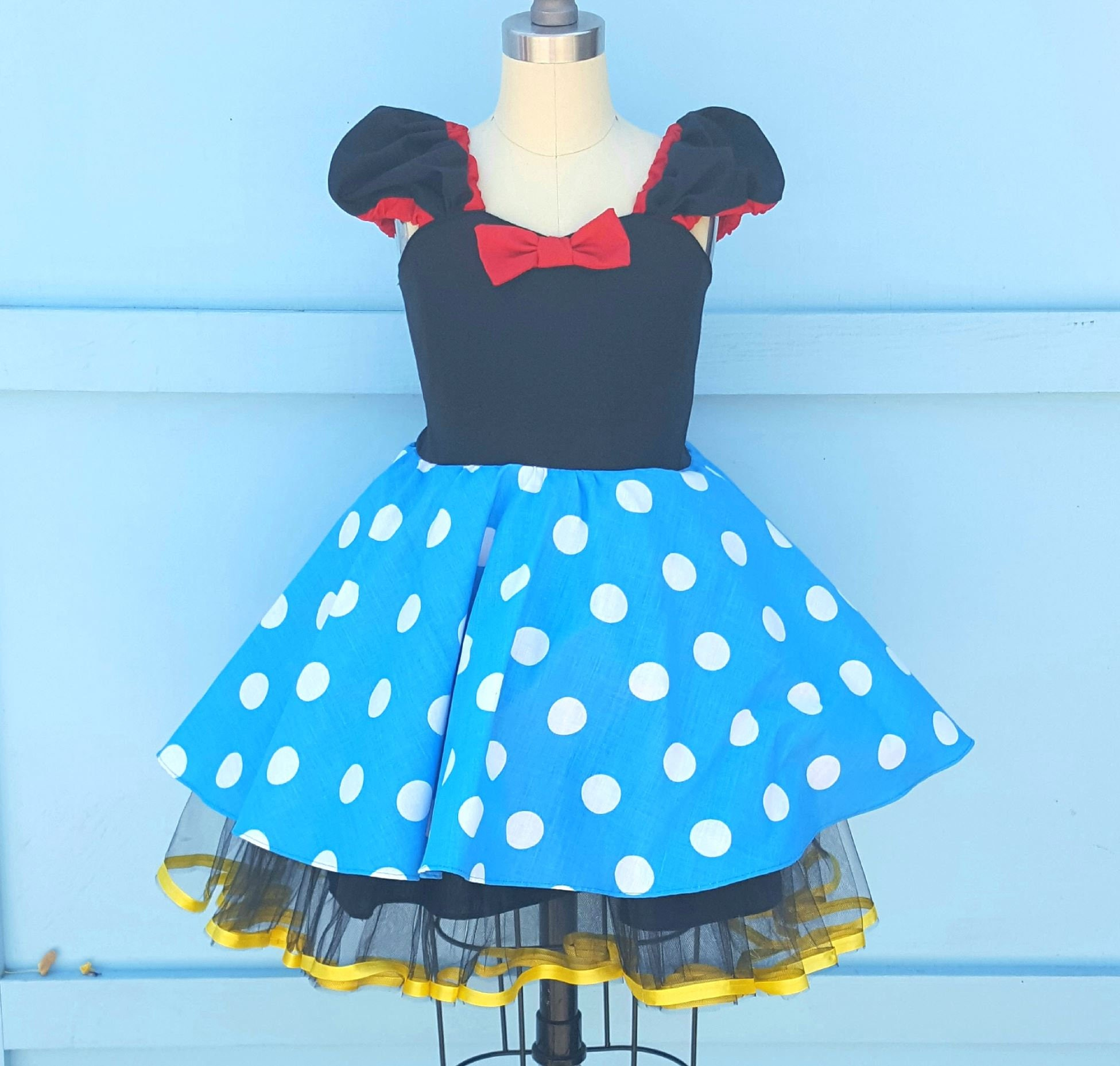 Minnie Mouse Dress Minnie Mouse Costume retro Minnie Mouse
