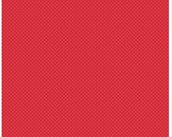 Kisses Tone on Tone Red (C210) - Riley Blake Designs
