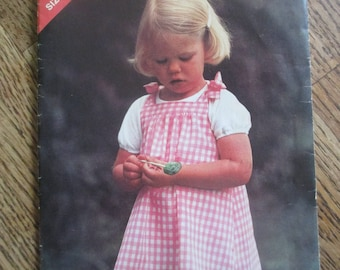 See and Sew Girls Jumper Pattern