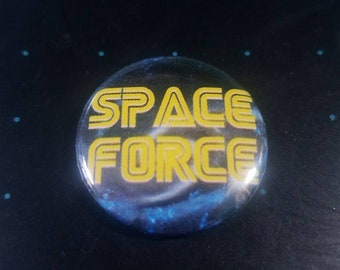 Space Force 1 inch Button