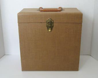 Vintage Disc Mate Record Case Holder Storage