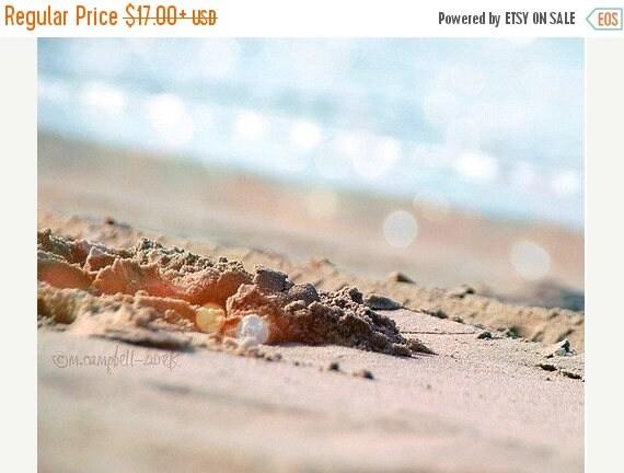 SALE beach photography, summer day at the beach, warm sunshine, sand, sunbathing, fun vacation, dreamy blue ocean waves, California art prin