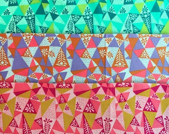 Sale! 3 Fat Quarters Garden Prism Sweet Dreams Anna Maria Horner Free Spirit Fabrics - Only One Available