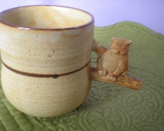 Stoneware Coffee Cup, Handmade Ceramic Mug, Cute Cat Mug, Whistle Cup