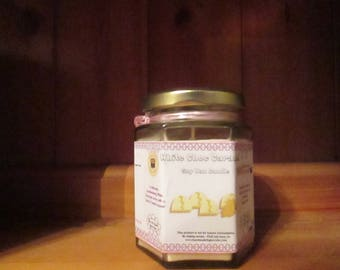 White Choc Caramel Scented Soy Wax Candle 300g