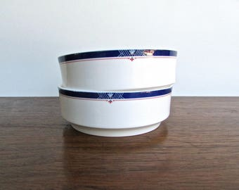 Lenox Porcelain Valley Forge First Class Cereal Bowls