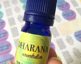 Dharana Oil -  Focus Oil - 100% Pure Essential Oil Blend - Aromatherapy - Essential Oil - Essential Oils