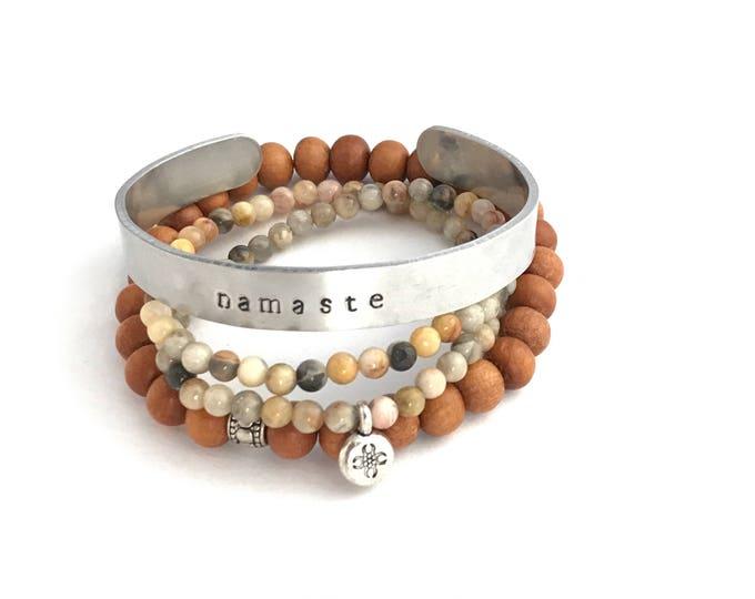 personalized silver cuff bracelet