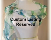 RESERVED - Sash - Silver sequin