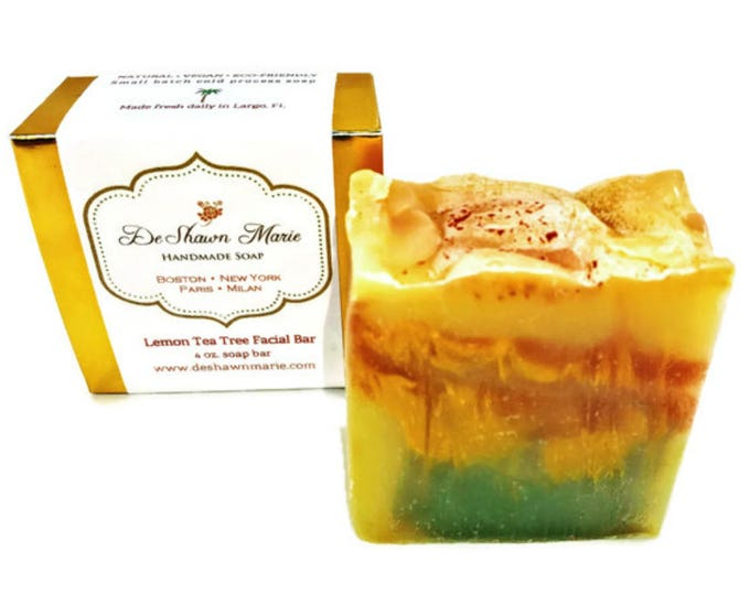 Lemon Tea Tree Facial Soap