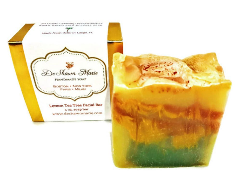 Tea tree facial soap