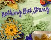 Custom Size 3 hand dyed crochet thread