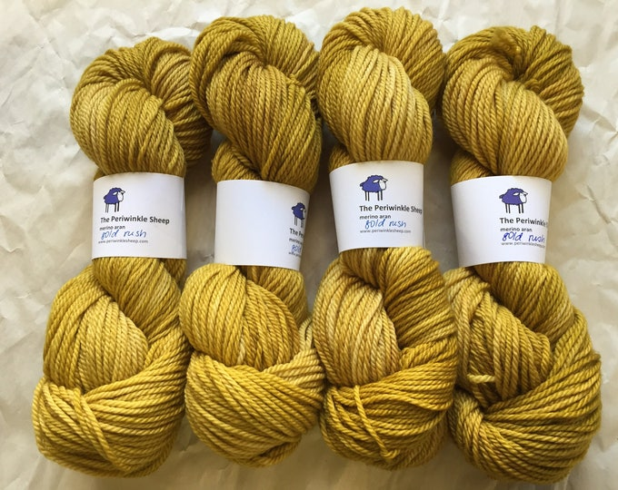 SALE merino aran - gold rush