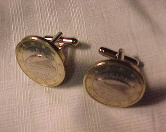 Ireland Coin Cuff Links