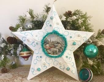 Beautiful Christmas Star Wall Hanging/Christmas Decoration