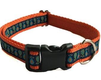 "3/4"" Retro Dog Collar Buckle or Martingale"