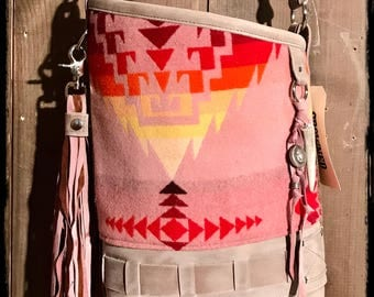 Tequila Sunrise crossbody purse #2