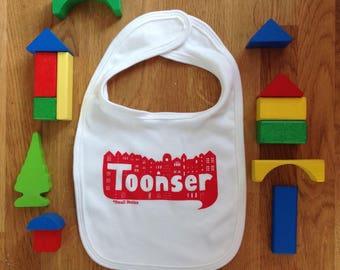 SALE - Toonser baby bib