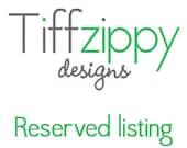 Reserved listing for francescapro
