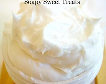 Pumpkin Marshmallow - Whipped Shea Butter - 4 oz. - Jar - Free Shipping - Handmade - Body Butter - Pumpkin Scented - Fall - Autumn - Lotion