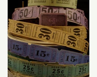 ON SALE Ticket Lover Dream Collection N0 24 Stunning and Rare Colors