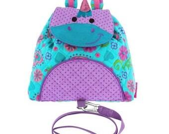 Personalized Stephen Joseph Little Buddy Bag Unicorn NEW
