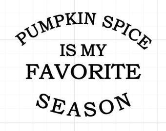Pumpkin Spice SVG, Digital Cutting File, png, dxf, pdf, svg, eps, Fall, Pumpkin, Coffee, Latte, Autmn, Season, Leaves, September, October