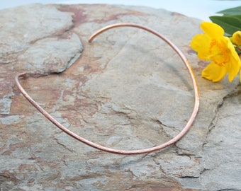 Neck Torc - Copper, Celtic Torq or Torque - medium