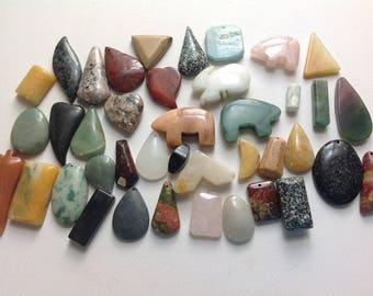 Large polished stones