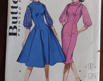 Butterick 9079 1950s 1960s Juniors Blouse and Jumper Size 11 Bust 31.5