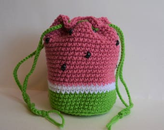 Summer Watermelon Purse