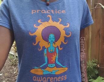Practice Awareness Women's short sleeve t-shirt
