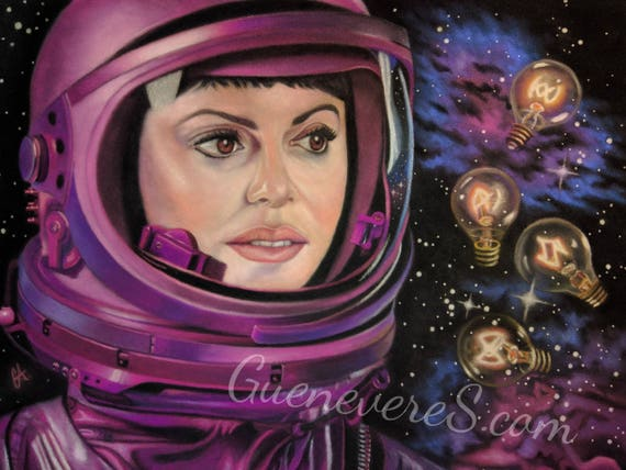 "Limited Edition Archival Print of ""Galaxy #Girlboss"""