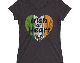 Ladies' short sleeve t-shirt, Funny St. Patrick's Day Shirt