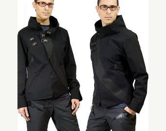 ON SALE SALE Cavalier, anime inspired cyberpunk jacket by Plastik Wrap, size Xl