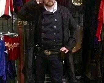 Men's Batman Belt, Steampunk Batman, Dustpunk, Diesel Punk, Victorian, Cosplay, Vintage, hero, superhero, deluxe
